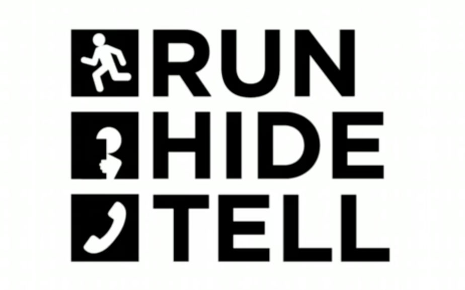 Run, hide, tell artwork