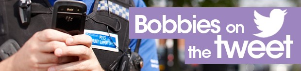 'Bobbies on the tweet' banner